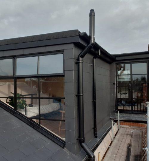 Black Steel Loft door and windows Design Plus London 1