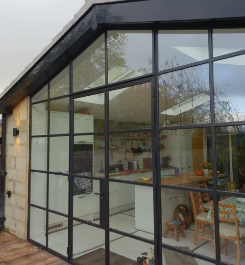Design Plus Black Original Steel windows and doors