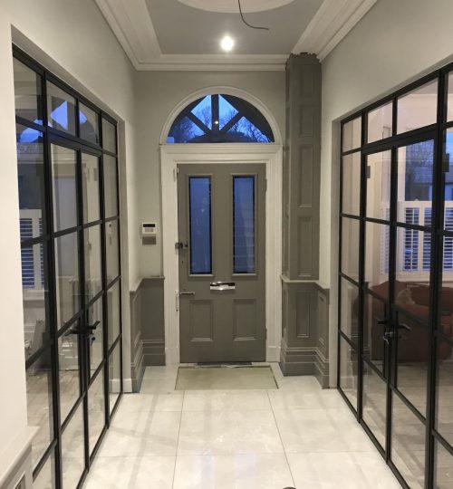Internal Original Steel Doors Design Plus London 1 W20 W40 Slim