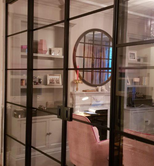 Internal Slim Steel door project gallery