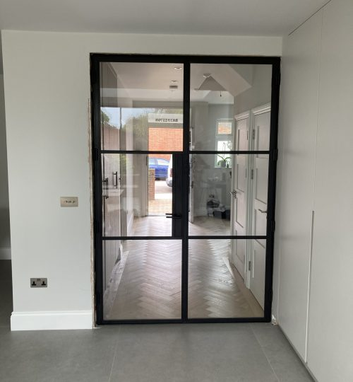 Steel fire door Design Plus London 02